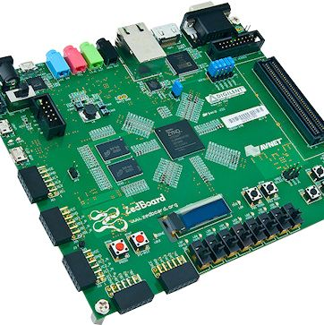 ZedBoard containing the Zynq-7000 SoC